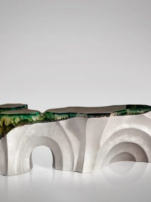 La Falaise Bench & Table